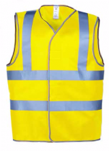 Safety, Hi Visibility Vest, Medium